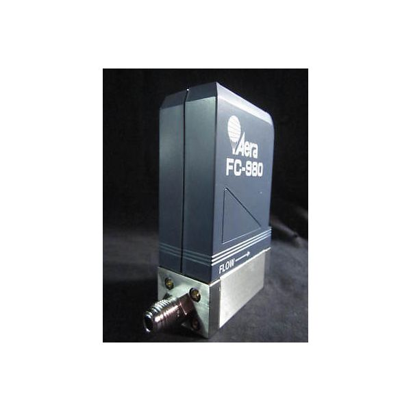 AERA FC-980 MASS FLOW CONTROLLER, GAS N2, RANGE 30SCCM
