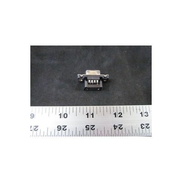 AMAT 0720-01880 AMP 747052-4 CONN RCPT CA MTG 9 POS W/O STRN RLF THD INSR PKG 3
