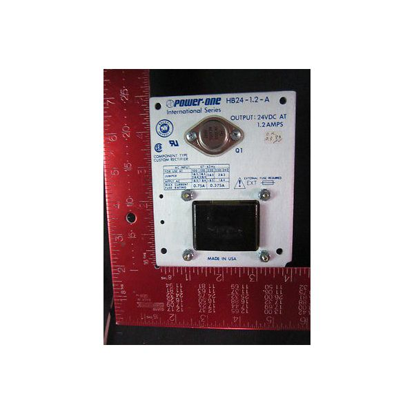 AMAT 21016400116 Output: 24VDC at 1.2 AMPS ANORAD International Series Power Sup