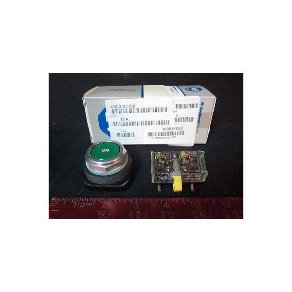 Applied Materials (AMAT) 0020-92388 Allen-Bradley 800T-A SWITCH GREEN MOD
