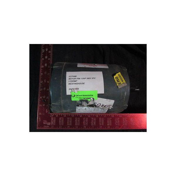 WESTINGHOUSE 327P488 MOTOR IFM 1-5HP 380V 3PH 1725RMP, 1/2 HP, 1725 RPM, 208-230