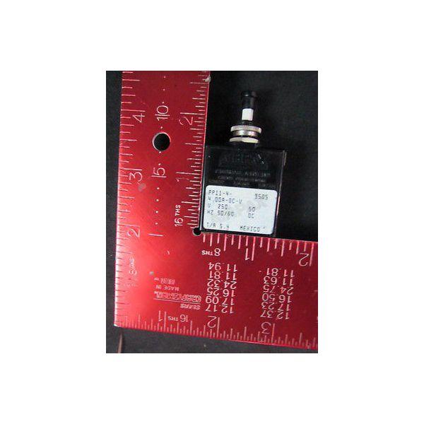 AIRPAX PP11-4-4 Magnetic Circuit Breaker, 250V, 50/60Hz