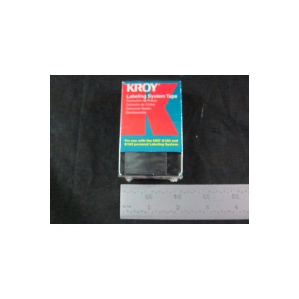 KROY 2479118 CARTRIDGE TAPE BLACK ON WHITE 1