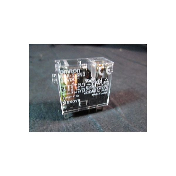 Disco Hi-Tec ABG2R2SND-D3 OMRON G2R-2-SND; RELAY (CONTROL) 24VDC, TV-3, 120VAC,