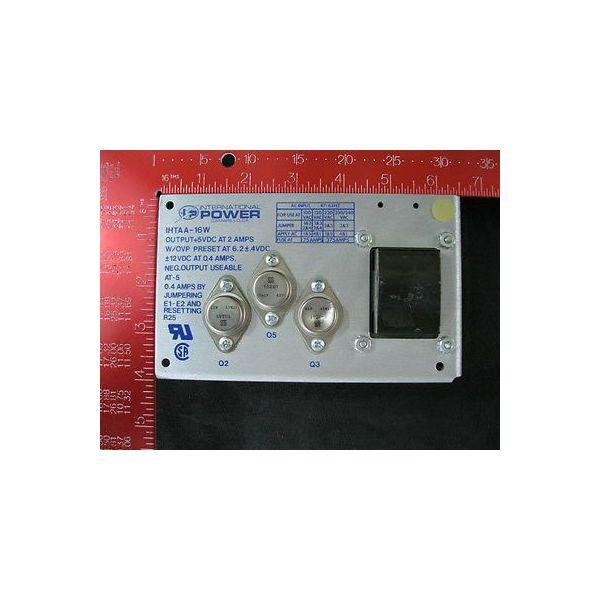 INTERNATIONAL POWER IHTAA-16W Power Supply, Poly-Flow
