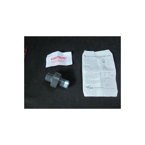 "RYAN HERCO CKM050V-PV PVC DIA Check Valve 1/2"" THD/V"