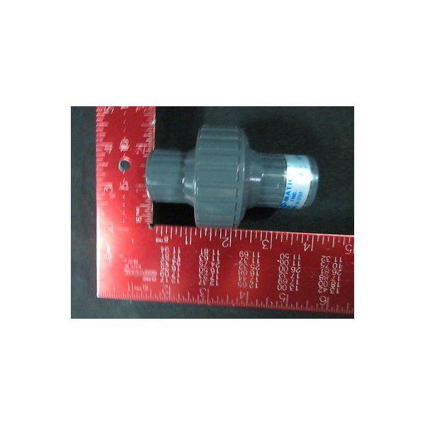 "RYAN HERCO CKM050V-PV PVC DIA Check Valve 1/2\"" THD/V"