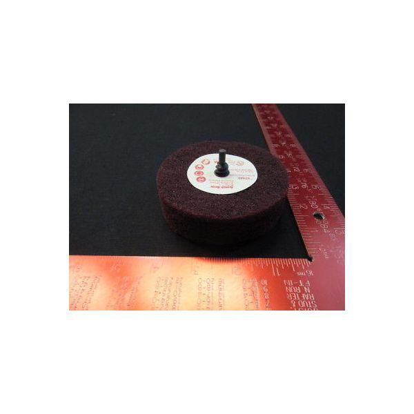Scotch Brite 051131-07443 Scotch-Brite Roloc + General Purpose Scuffing Wheel 07