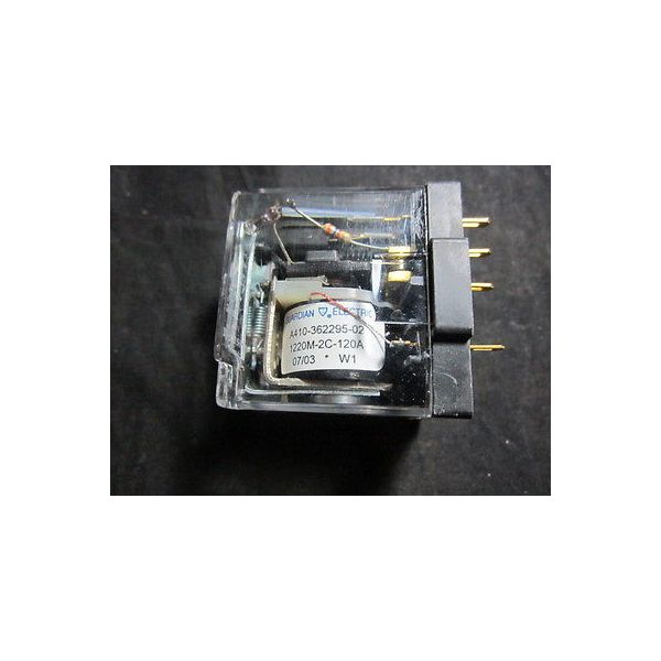 Teledyne ES-551B1800015-009 Relay, 120V, 60Hz, 1/4-HP, 120 VAC