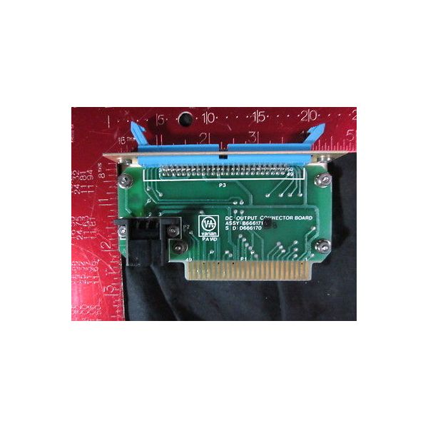 Varian B666171 DC output connector board
