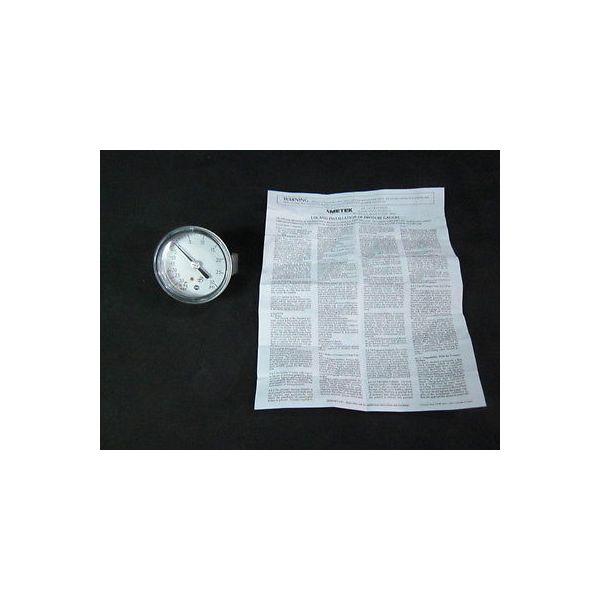 "AMAT 831227 Pressure Gauge, 2-1/2\"",  30-0--30PSI, 1/8 NPT CBM"