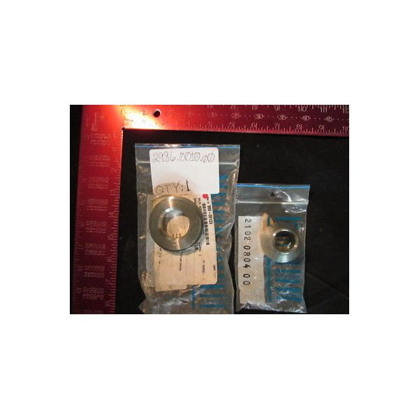 ATLAS CORP 2986.0010.00 2 PIECE SET: (1) 2986.0010.00 , (1) 2102.0804.00; VALVE,