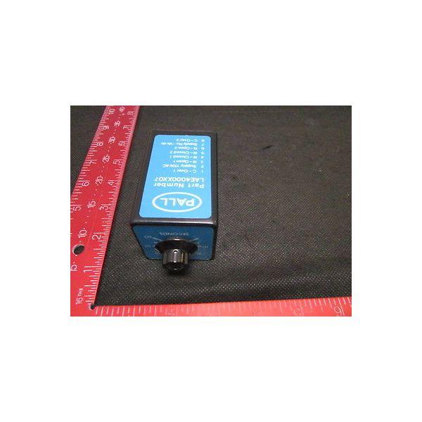 PALL LAE4000XX07 RELAY T DELAY LAE 4000XX07 110V/50HZ FOR