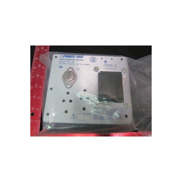 POWER-ONE HC12-3-4-A POWER SUPPLY; OUTPUT: 12VDC @ 3.4-AMPS TEMPTRONIC CORP