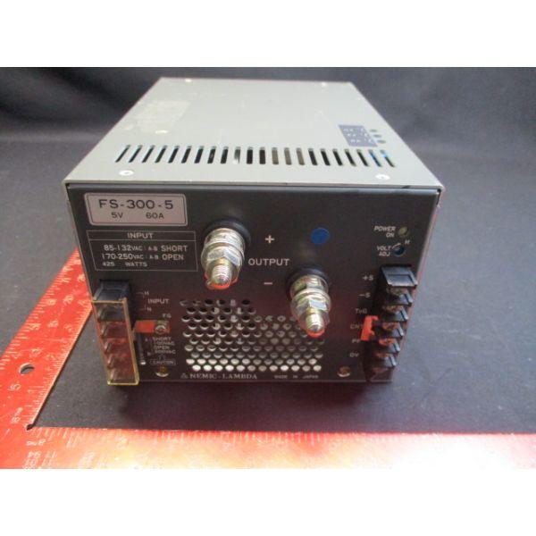 TDK-LAMBDA-PHYSIK-NEMIC FS-300-5 POWER SUPPLY 5V, 60A