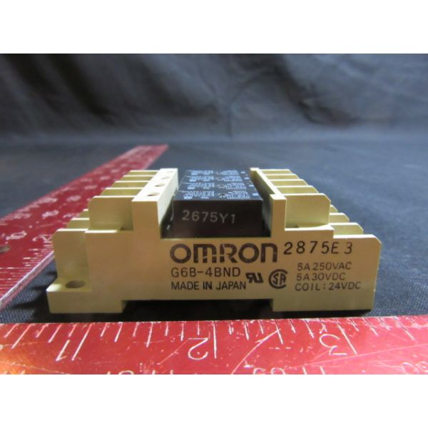 Omron G6B-4BND NEW (Not in Original Packaging) TERMINAL RELAY SOCKET