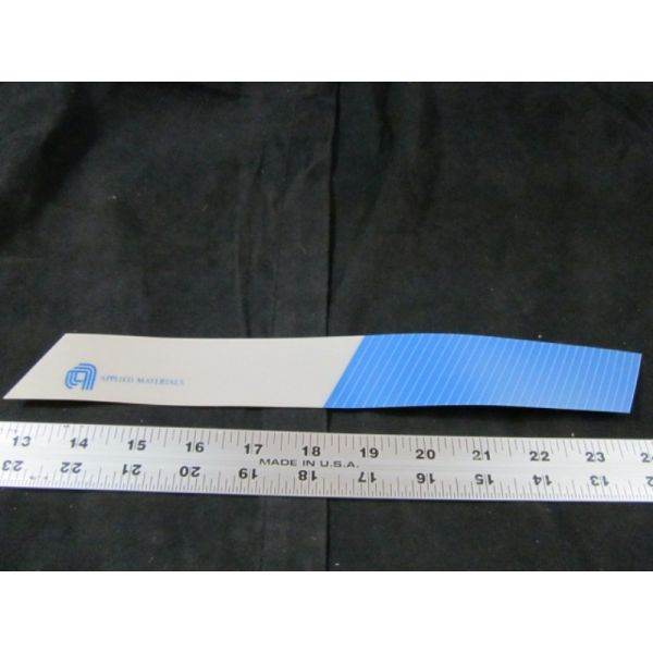 Applied Materials AMAT 0060-90141 LABEL GRAPHIC BEZELCONTMOD