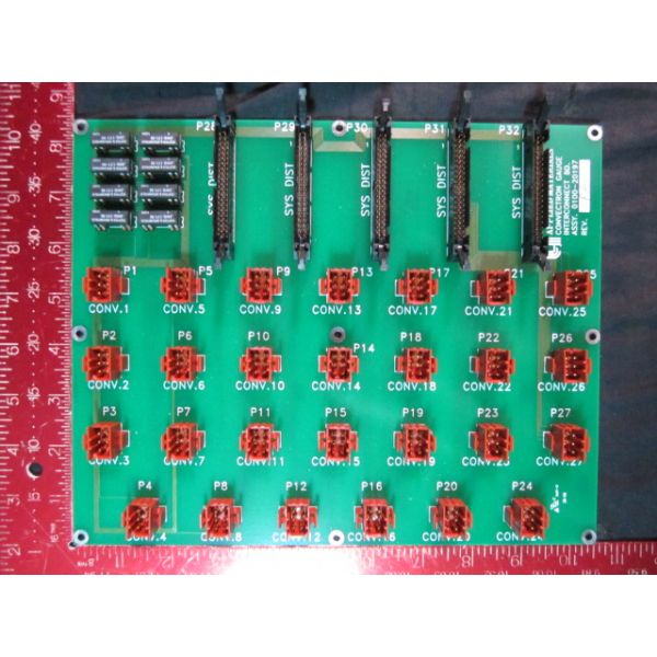 Applied Materials AMAT 0100-20197 PCB ASSEMBLY CONVECTRON GAUGE INTERCONNE