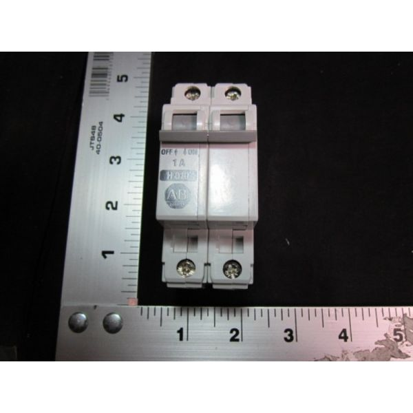 Applied Materials AMAT 0680-00142 2-pole 1A Circuit Breaker CB MAG THERM 2P 480VAC 1A H-TRIP SCR-TER