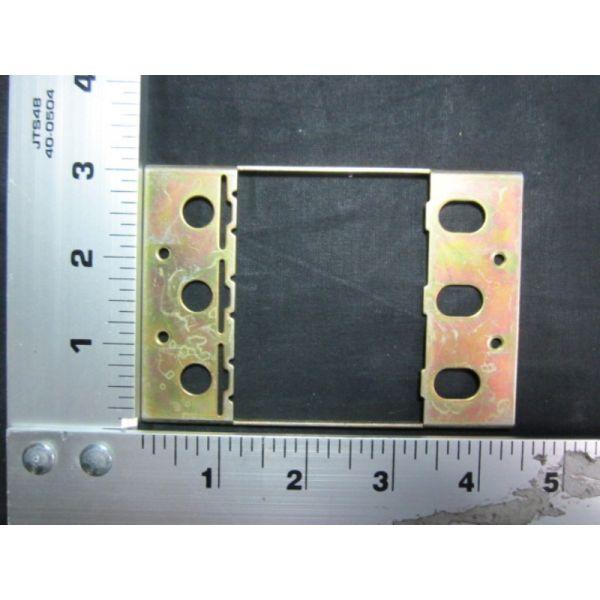 Applied Materials AMAT 0680-01092 CB MTG PLATE FRONT 3P 120240V 10-100A QUICKLAG