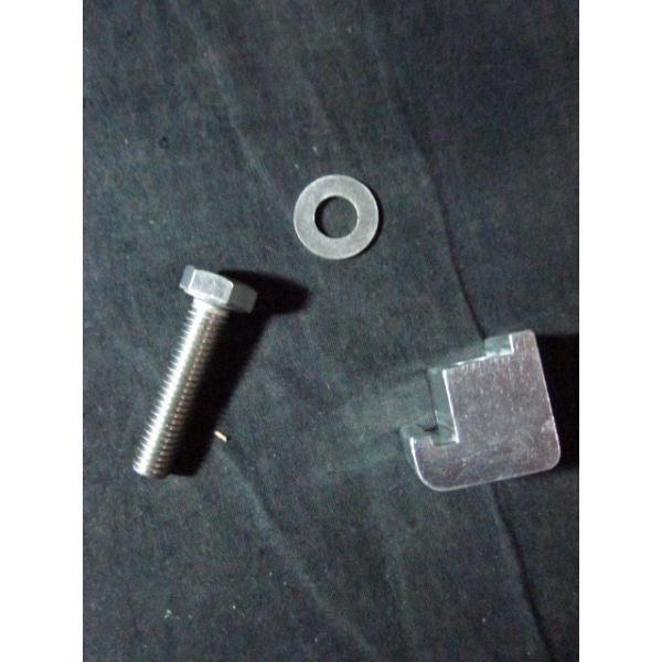 Applied Materials AMAT 0690-01563 Clamp Flange SGL-CLAW NW100 AL M8-HEX Bolt and Washer SST