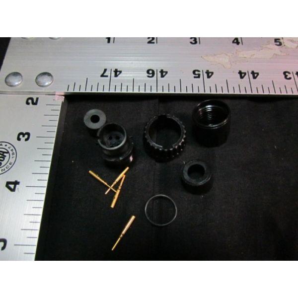 Applied Materials AMAT 0720-00703 CONN  PLUG CA-END CIRC 4PIN CRIMP WEATHE