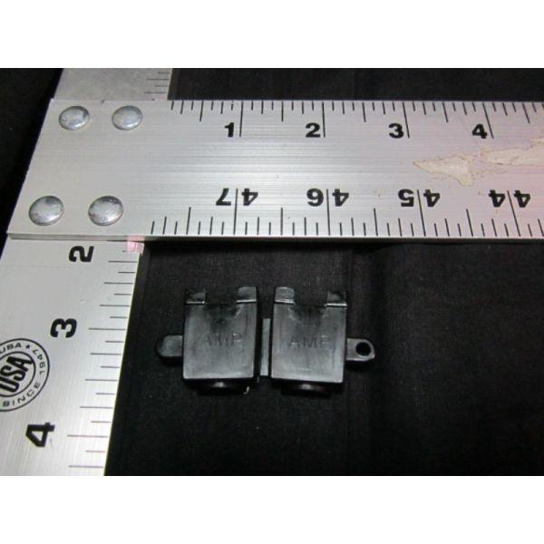 Applied Materials AMAT 0720-01251 CONN CLAM SHELL STRN RLF SERIES MR NYLON BLK