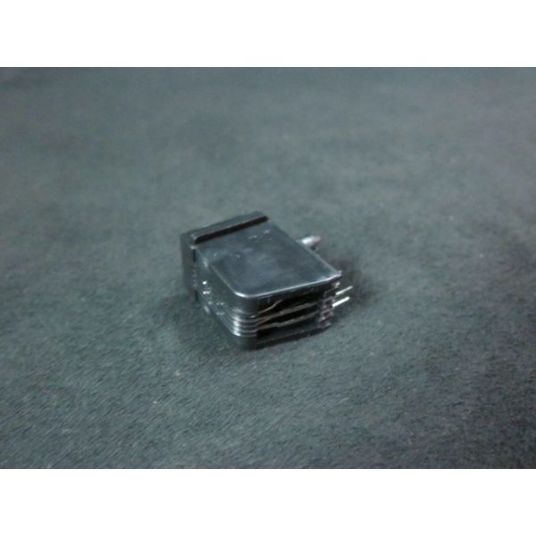 Applied Materials AMAT 0720-01505 Connector Jack PC MTG PRL 4 POS FLNGLESS Black POLY
