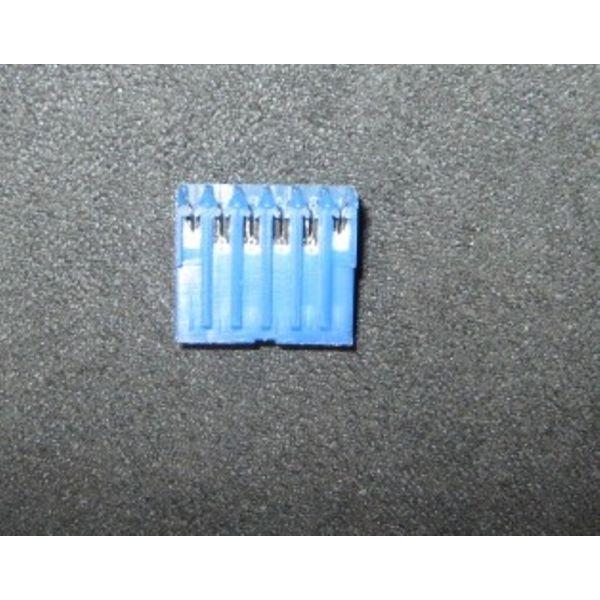 Applied Materials AMAT 0720-01805 CONN HSG PLUG 6 POS MTA SERIES