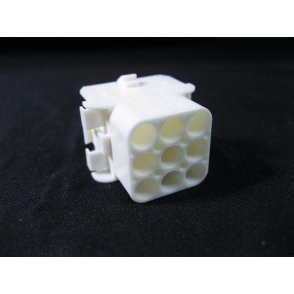 Applied Materials AMAT 0720-03283 CONN SHG CAP FREE-HANGPNL-MT 9POS RED NYL UL94V0