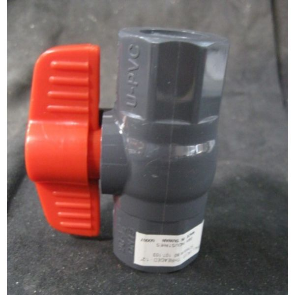 COLE-PARMER 07387-22 VALVE BALL THREADED-12 PVC