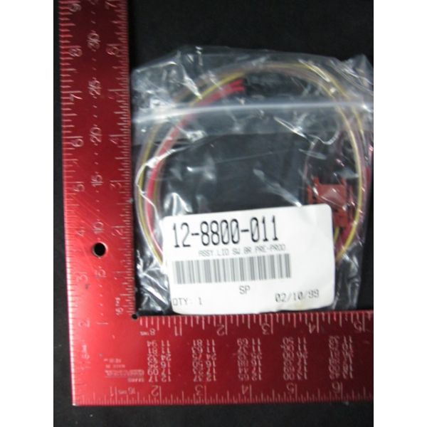 Lam Research LAM 12-8800-011 Magnetic Sensor Assembly LID SWBRPRE-PROD 3 feet long 10W Maximum 120 V