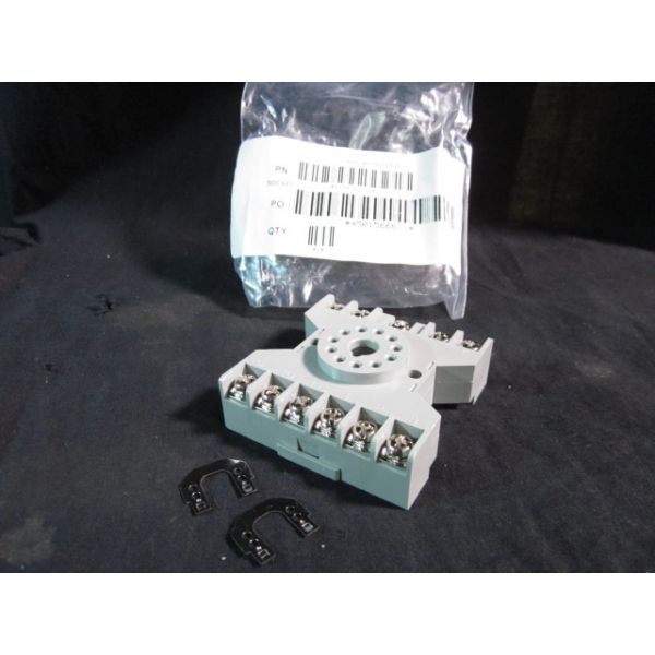 Applied Materials AMAT 1230-01136 SKT RLY DIN RAIL-MTG 11 PIN OCTAL
