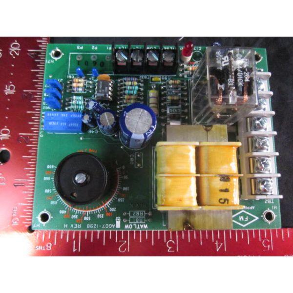 WATLOW 140A-1601-6000 CONTROLLER OVERTEMP 0-600 DEG F -18- 315 DEG C 115230 VAC