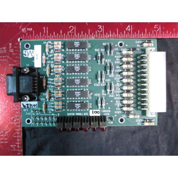AVIZA-WATKINS JOHNSON-SVG THERMCO 165990-001 PCB ASSY SCR FIRING CARD REVB