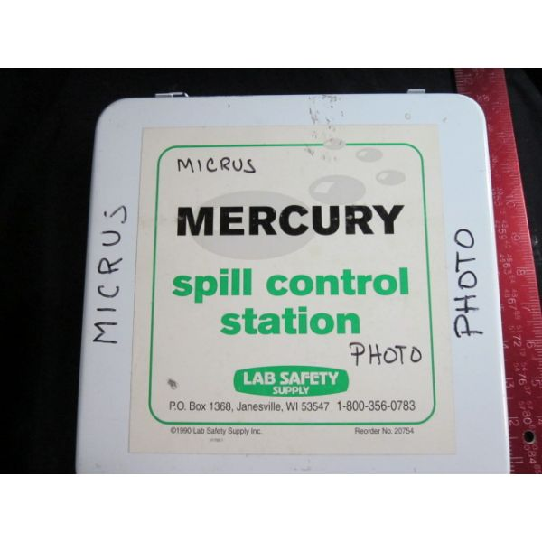 MERCURY 20754 SPILL CONTROL STATION