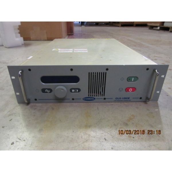 Novellus 27-257659-00 COMDEL FP1605RA CLX-10K GENERATOR 10kW 4000kHz LF