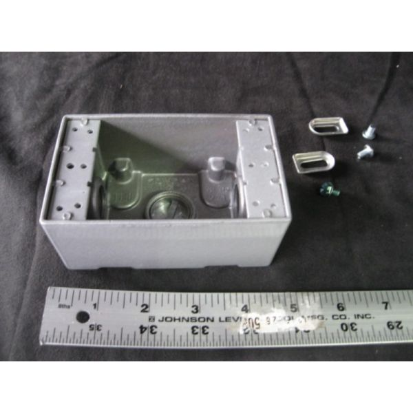 BELL 273-L WEATHERPROOF 34 OUTLET BOX