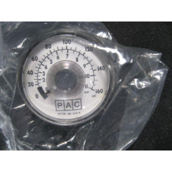 PAC 2P09216 GAUGE 160PSI