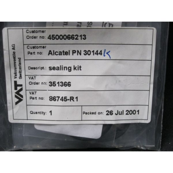 ALCATEL 30144K VAT 86745-R1 KIT SEAL-NW25