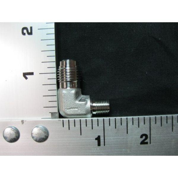 Applied Materials AMAT 3300-02268 FTG TBG EL 90DEG 18MNPT X 14MVCR GSKT-SEAL SST