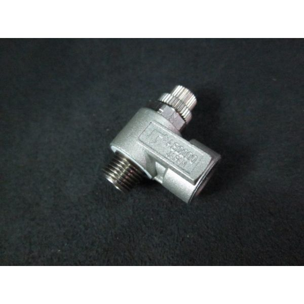 Applied Materials AMAT 3300-02685 Fitting 18NPT RT Angle Regulator
