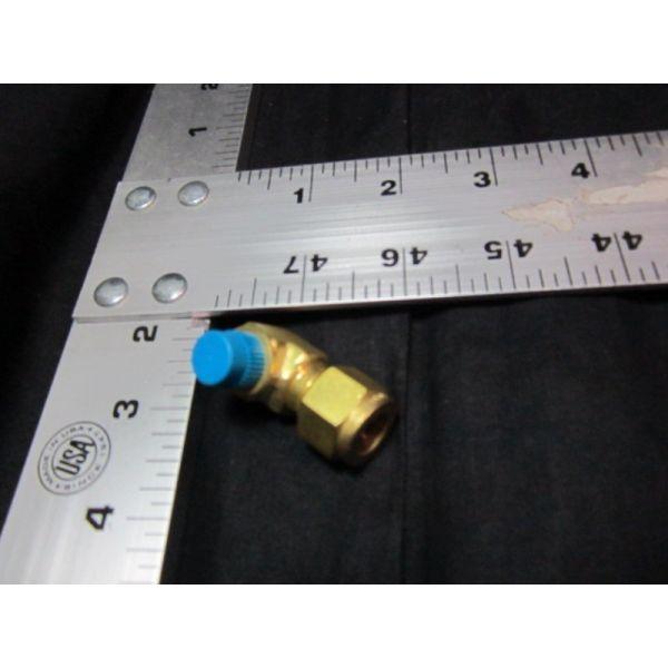 Applied Materials AMAT 3300-02689 FTG TBG ELBOW 38T X 18MNPT BRASS