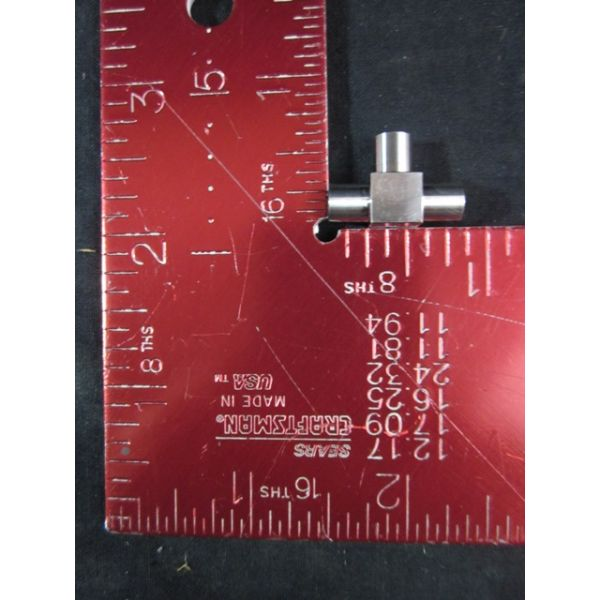 Applied Materials AMAT 3300-03027 Fujikin UJT-635M-AW-S-UP Fitting Tubing Tee 14UJR-MMM SST 4RA-Fini