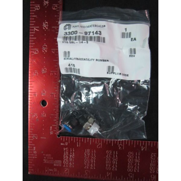 Applied Materials AMAT 3300-97143 Fitting QSL-14-6