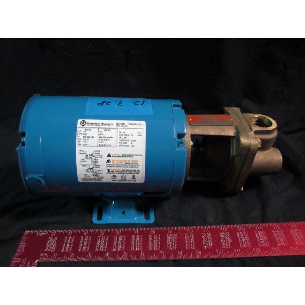 Applied Materials AMAT 3620-01011 PUMP BURKS 06AS00161  MOTOR FRANKLIN 1303222103 PRESSURE TURBINE H