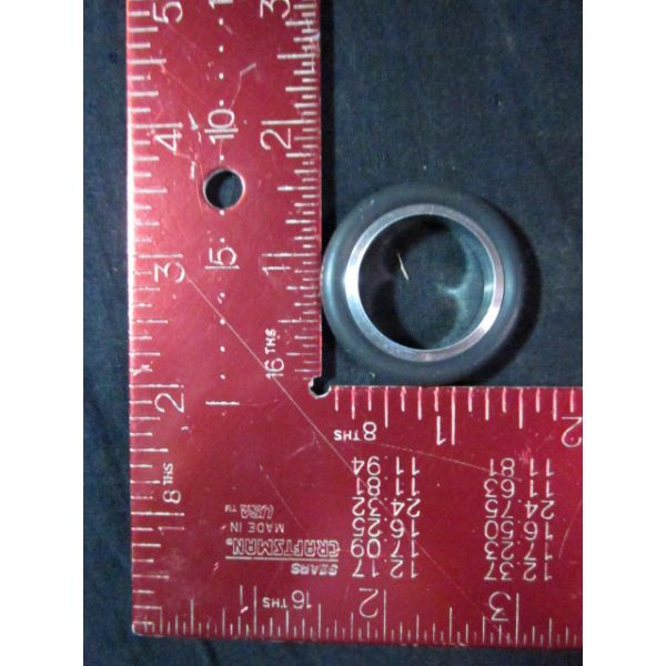 Applied Materials AMAT 3700-02335 Centering Ring Assembly NW25 with Viton O-Ring ALUM