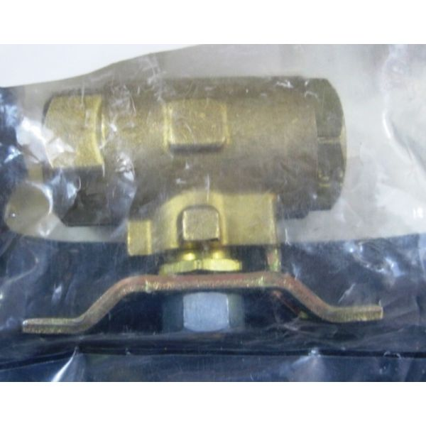 Applied Materials AMAT 3870-01338 Parker V500-P-4-04 VALVE BALL 2 WAY FEM END SIZE 14 BRASS