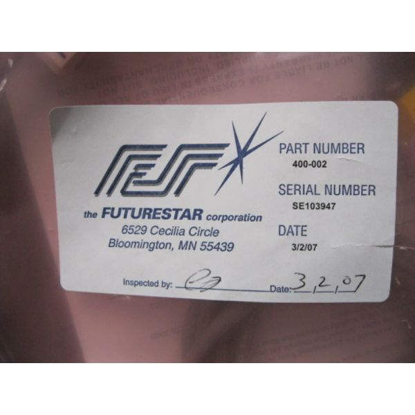 FUTURESTAR 400-002 SENSOR FLOW