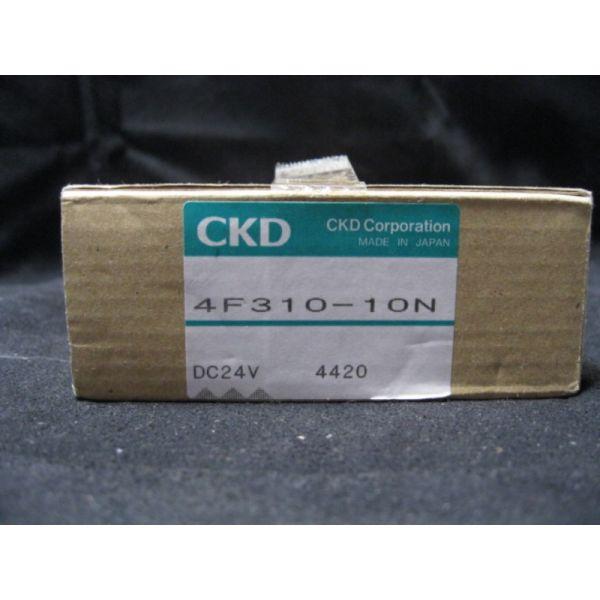 CKD 4F310-10N VALVE SOLENOID 24VDC 38 FP